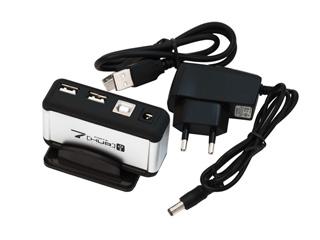 Концентратор ORIENT KE 700 на 7 USB портов с блоком питания