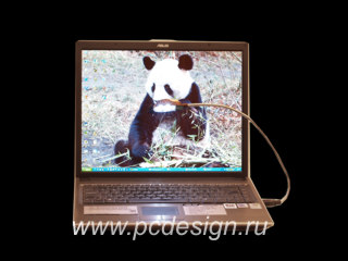 Светодиодная лампа USB в виде комп  мышки ORIENT L 013