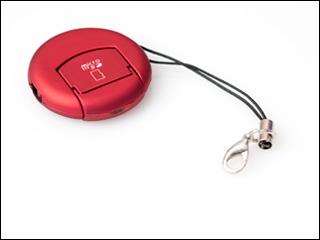 USB картридер брелок ORIENT MS 01 для Micro SD  T Flash красный