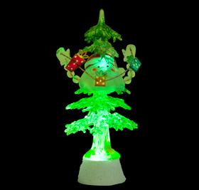 USB новогодний сувенир Дед Подаркин ORIENT NY5182 с подсветкой