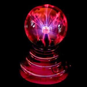 Плазменный шар USB Orient LM4 3P  розовая  полупрозрачная  подставка