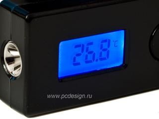 Беспроводной USB термометр Scythe Kama Thermo Wireless Black SCKTW 1000BK  черн