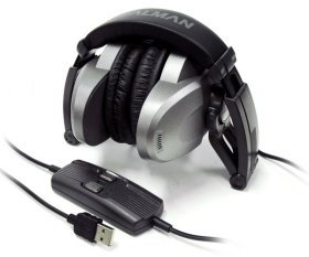 USB Наушники со звуковой картой Zalman ZM RS6F