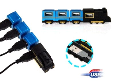 USB Паровоз Hub Orient TR-450 концентратор на 4 USB порта