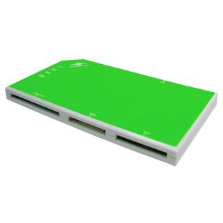 Внешний кардридер Vantec Go2 0 UGT CR920 GR USB 2 0  58 в 1  зелено белый