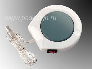 USB подогреватель для кружки W 1002  белый
