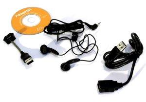 Часы флешка Gembird FW MP3 128  USB  128MB  черные  mp3 плеер  диктофон