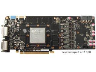 Водоблок для видеокарты aquagraFX GTX 580  GF110  G1 4 для nvidia GeForce GTX580