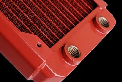 Радиатор для водяного охлаждения Black Ice GT Stealth 360 красный