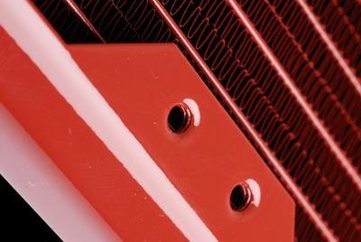 Радиатор для водяного охлаждения Black Ice GT Stealth 140 XFlow 1P красный