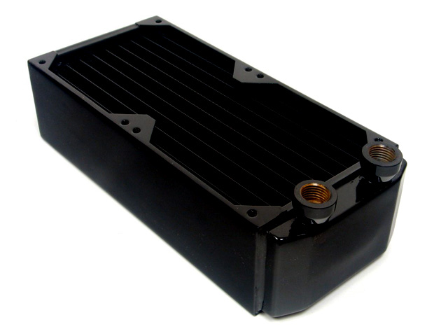 Радиатор для водяного охлаждения Black Ice GT Xtreme Micro 184 черный