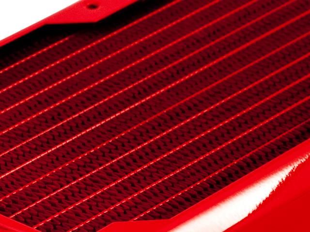 Радиатор для водяного охлаждения Black Ice GT Xtreme 120 красный