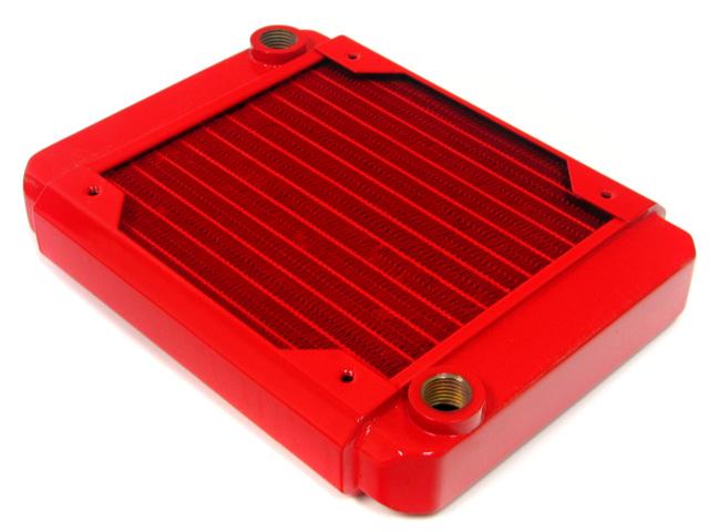 Радиатор для водяного охлаждения Black Ice GT Stealth 120 XFlow красный
