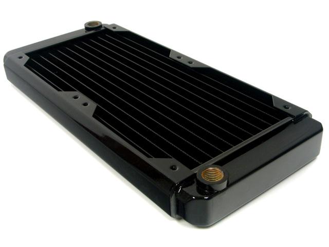Радиатор для водяного охлаждения Black Ice GT Stealth 240 XFlow черный