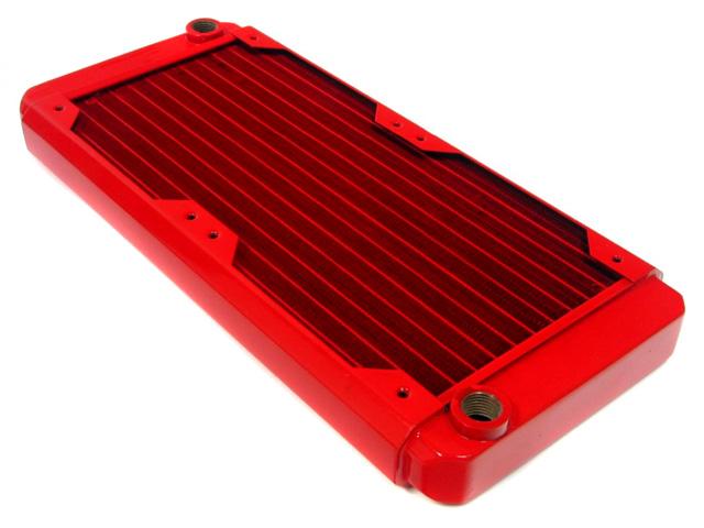 Радиатор для водяного охлаждения Black Ice GT Stealth 240 XFlow красный
