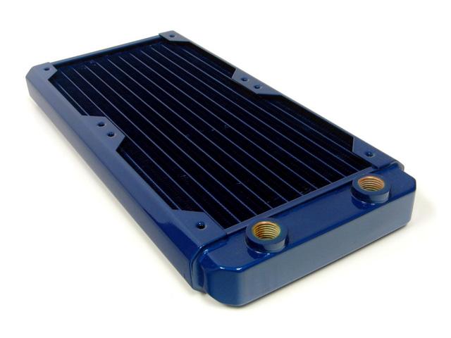 Радиатор для водяного охлаждения Black Ice GT Stealth 280 синий