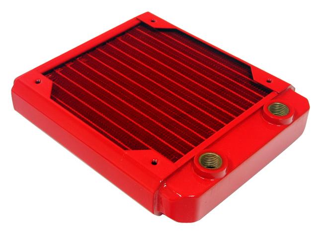 Радиатор для водяного охлаждения Black Ice GT Stealth 140 красный