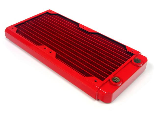 Радиатор для водяного охлаждения Black Ice GT Stealth 240 красный