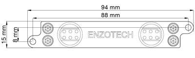 Водоблок для мосфета Enzotech WMST 88 Forged Copper Mosfet для ASUS