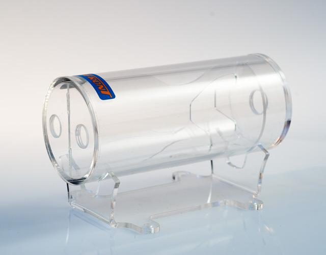 Резервуар для СВО Tecnofront Flow Trap прозрачный на подставке 45131