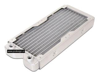 Радиатор Magicool алюминиевый  с возможностью подключения 2 х 120 мм вент