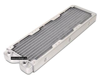 Радиатор Magicool алюминиевый  с возможностью подключения 3 х 120 мм вент