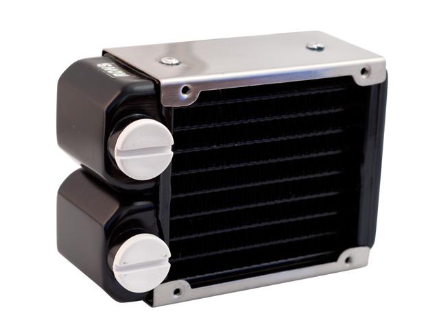 Радиатор для водяного охлаждения Nanoxia Bigblock 08 X1 черный с рамой