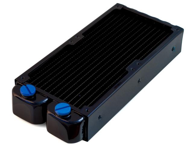 Радиатор для водяного охлаждения Nanoxia Bigblock 12 X2 черно синий