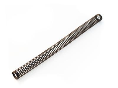 Защита от перегиба стальная пружина 200мм для шланга 11мм черная