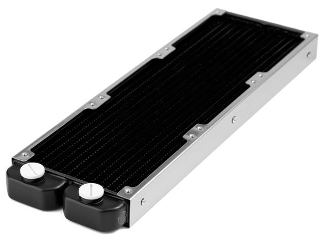 Радиатор для водяного охлаждения Nanoxia Thinblock 12 X3 черный с рамой