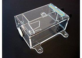 Резервуар для СВО Tecnofront Micro Trap прозрачный прямоугольный