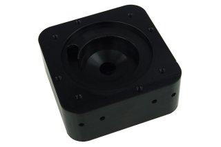 Крышка для помпы Alphacool HF D5 TOP Black Acetal G1-4 для помп Laing D5 и Swiftech MCP-650-655