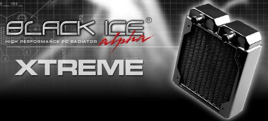 Радиатор Black ICE Xtreme I с возможностью подключения 1 го 120мм вент