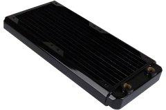 Радиатор Black ICE GTS 240 с возможностью подключения 2 х вентиляторов 120мм