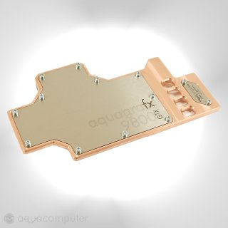 Водоблок aquagraFX для видеокарт nvidia GeForce 9800 GTX с ядром G92