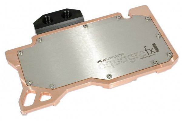 Водоблок для видеокарты aquagraFX GTX 480  GF100  G1 4 для nvidia GeForce GTX480