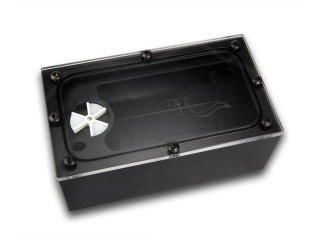 Резервуар для СВО с датчиком оборотов EK BAY SPIN Reservoir Black Acetal