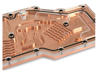 Водоблок EKwaterblocks EK FC5970 Copper Plexi Full Cover для видеокарты ATI 5970