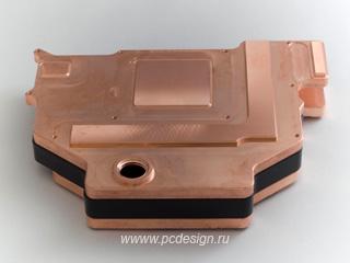 Водоблок на видео EK FC9800 GX2    Acetal