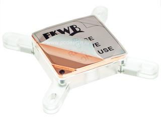 Водоблок процессорный EK Water Blocks EK Supreme LT   Plexi  S 775   1366