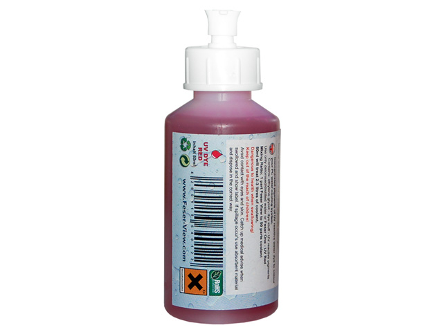 УФ  добавка краситель в жидкость СВО Feser View FV Active UV Dye RED 640122
