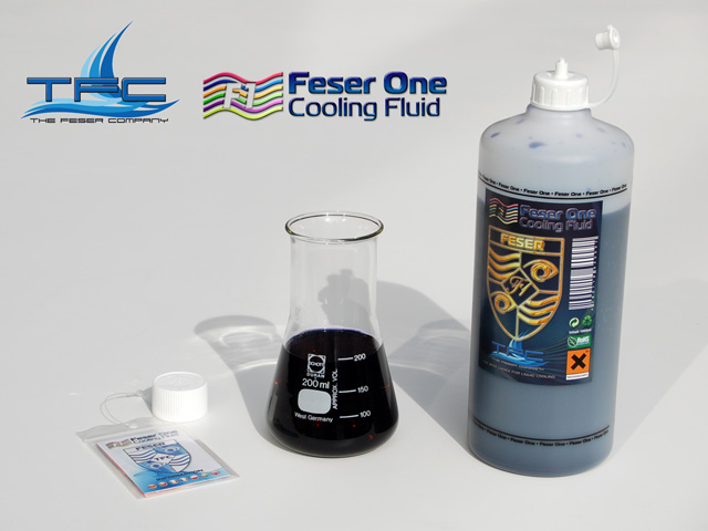 Хладагент Feser One F1 Cooling Fluid UV BLACK черный УФ 1000мл 640092