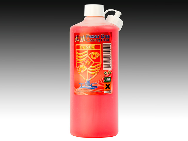 Хладагент Feser One F1 Cooling Fluid UV RED красный УФ 1000мл 640023