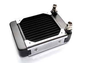Радиатор Promodz  размер 138х46х173мм  с возможностью подключения 120 мм го вент