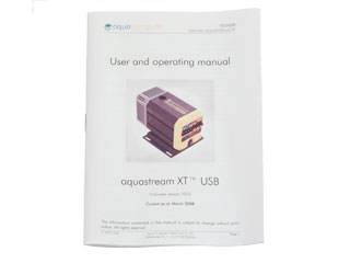 Помпа Aquacomputer Aquastream XT USB 12В Pump  Standard Ver  с переходниками 1 4