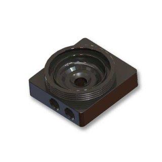 Верхняя крышка  EK D5 X Top Acetal  для помп  Laing D5 и Swiftech MCP 650 655