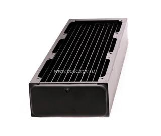 Радиатор ThermoChill PA120 3 для установки трех 120мм вент   с переходниками 1 4
