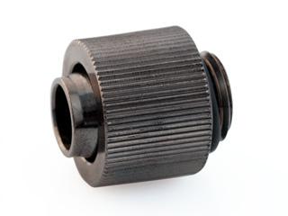 Фитинг прямой компактный Black Connect G1 4 13х10мм черный