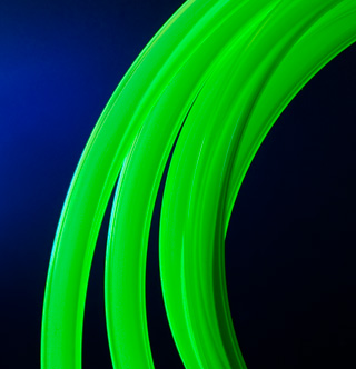 Шланг для водяного охлаждения Feser Tube UV GREEN 9 7 12 7мм 1метр
