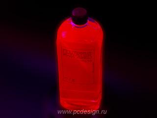 Хладагент U WATER UV Red 1 литр  красная  светится в УФ